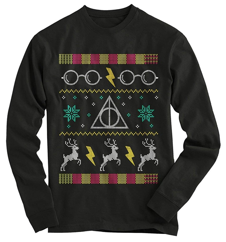 Gnarly Tees Harry Potter Ugly Christmas Sweater