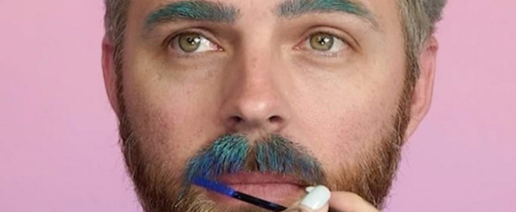 "Watch How 1 Makeup Artist Transforms Her Patient Husband Into a ""Manicorn"""
