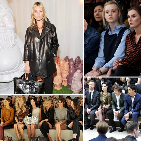 Celebrities at London Fashion Week | Pictures