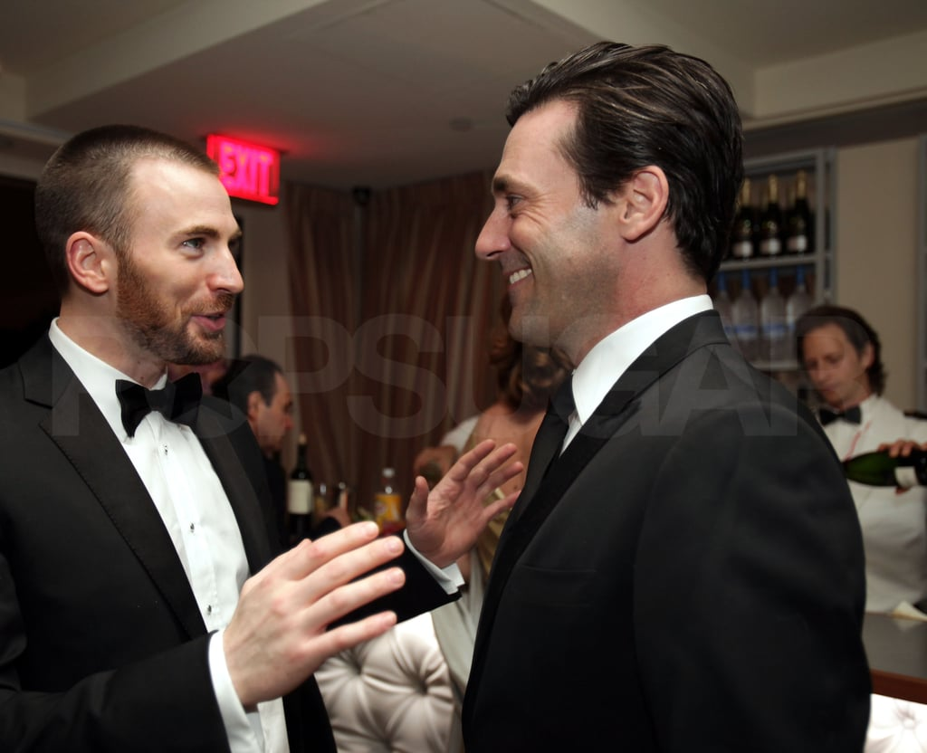 Chris Evans, Jon Hamm