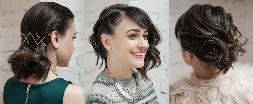 3 Parties, 3 Hairstyles For Shoulder-Length Locks