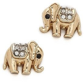 They might be studs, but this pair of Juicy Couture elephant studs ($38) doesn't short on personality.