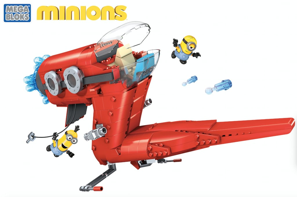 For 5-Year-Olds: Mega Bloks Minions Supervillain Jet