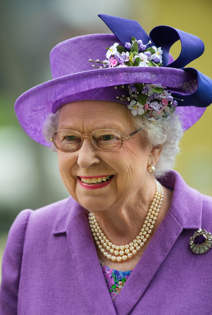 And the Queen!
