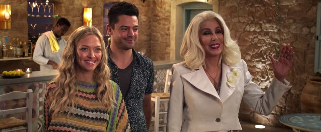 Cher Makes a Hilarious Splash in the New Mamma Mia! Here We Go Again Trailer