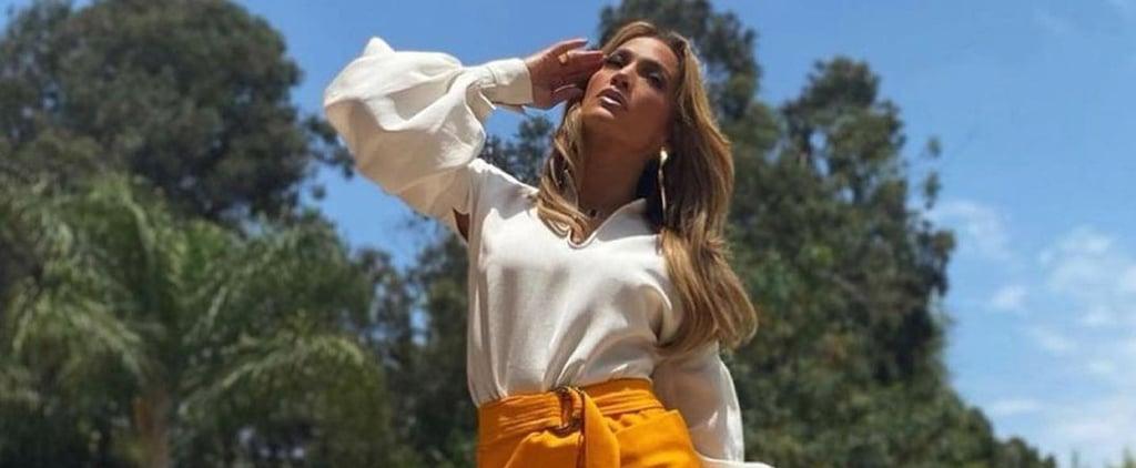 Jennifer Lopez's Valentino Platform Boots For MTV Project