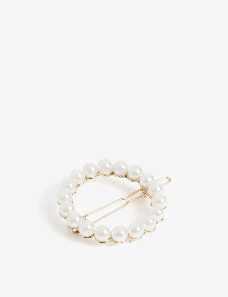 Barrettes: Shrimps Albia Pearl Hairclip
