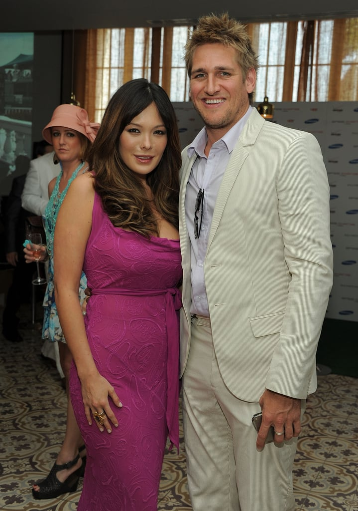Lindsay Price and Curtis Stone hung out at a Derby party in LA in 2011.