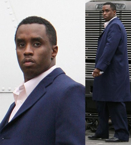 Diddy Is Tickled Pink