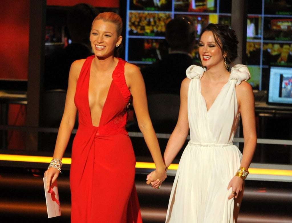 "As the stars celebrated the 2019 Emmy Awards on Sunday night, Blake Lively decided to throw things back to 2009 with a sweet tribute post. She shared a series of photos from her own Emmys debut a decade ago, alongside Gossip Girl costar Leighton Meester. ""10 years ago ✖️♥️✖️♥️,"" she wrote in the caption.  Blake and Leighton presented together at the 2009 Emmys, and with the news of a Gossip Girl spinoff coming to HBO Max, this throwback gives us serious hope for a Serena and Blair reunion. Both actresses have previously said they would return to the show if given the chance, although perhaps not as full-time cast members. They each have their own families now — Blake with Ryan Reynolds and Leighton with Adam Brody — and are involved in separate projects. Never say never, though! If anything, Blake's 'gram simply fuels our fire. Keep reading for more throwback photos from Blake's night at the 2009 Emmys."