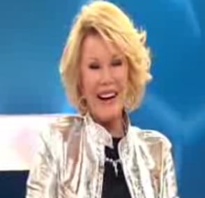 Joan Rivers Curses on Loose Women