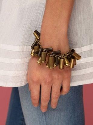 Bracelet With Bullet Casings