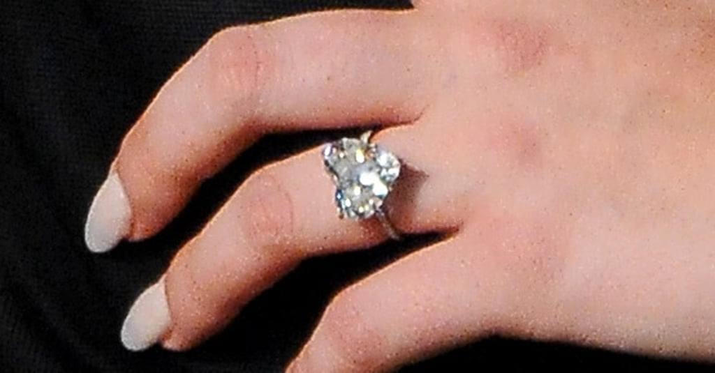 "Valentine's Day marked a romantic milestone for Lady Gaga. Last Saturday, the singer got engaged to her boyfriend, actor Taylor Kinney. Lady Gaga confirmed the news on Monday, sharing a picture of her engagement ring on Instagram. ""He gave me his heart on Valentine's Day, and I said YES!"" she wrote. According to reports, Taylor proposed to Lady Gaga before the couple headed over to Joanne Trattoria, her family's Italian restaurant in NYC, for a celebratory meal. It's been more than three years since the pop star met Taylor on the set of her music video for ""You and I,"" in which the Chicago Fire actor flaunts his shirtless physique as her love interest. The clip also shows Lady Gaga making out with Taylor while wearing her mother's wedding gown. In the years since, the pair has opened up about their budding romance. ""For me, the connection that I feel is so strong that it's so much stronger than physical,"" she said in an interview with Howard Stern in 2013. ""We're both very protective of our love as well. We treat each other with a lot of care, and we're good to one another."" The following year, Taylor commented on their relationship at a Golden Globes party, telling E! News, ""I'm reserved. She's not. For whatever reason, it works."" Keep reading to see her engagement ring! Related:  Lady Gaga and Taylor Kinney's Cutest Snaps Show They Are Meant to Be Taylor Kinney Is Going to Make One Superhot Husband  Source: Getty/Dimitrios Kambouris"