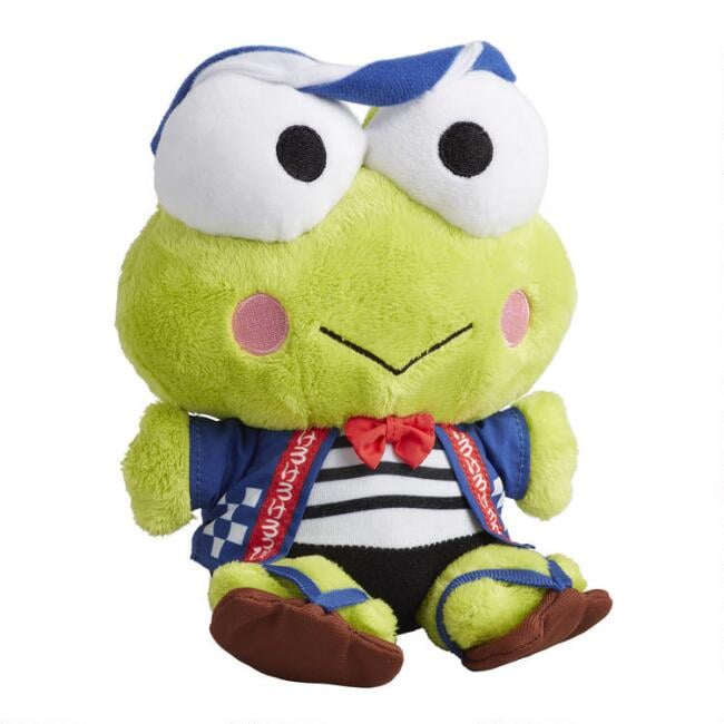 Keroppi Omatsuri Festival Stuffed Plush