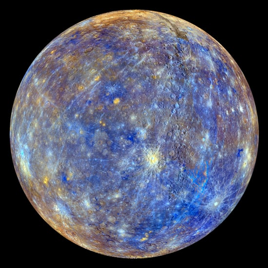 NASA Messenger Photo of Mercury