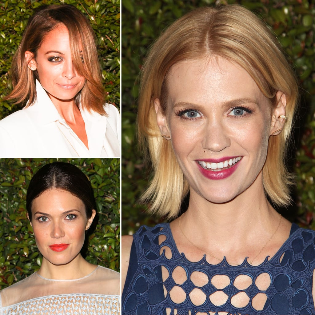 Celebrity Hair and Makeup at the Chloe Fashion Show 2013