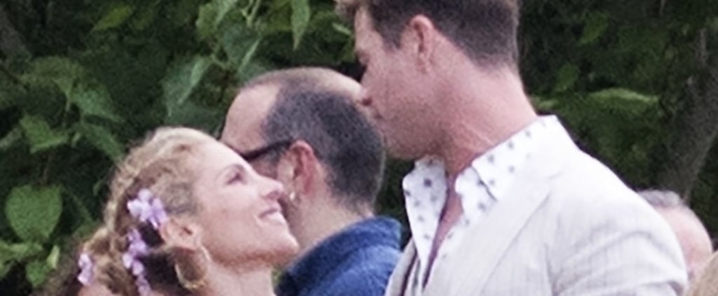 Chris Hemsworth and Elsa Pataky at Brother's Wedding 2018
