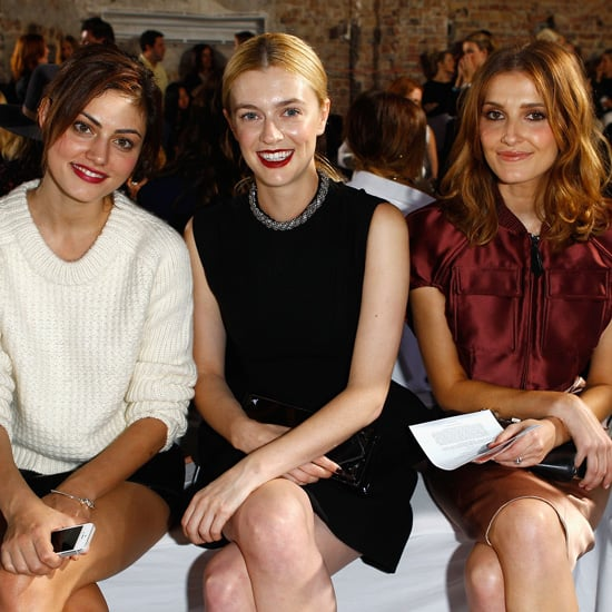 2013 MBFWA Front Row Celebrity Pictures Day 2