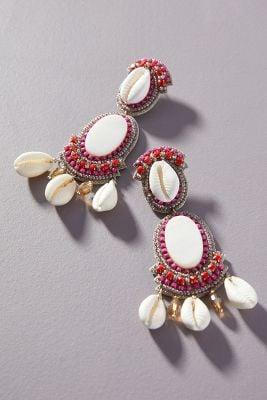 Suzanna Dai Large Shell Earrings