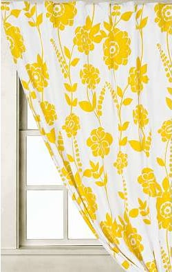 Steal of the Day: Climbing Dahlia Curtain
