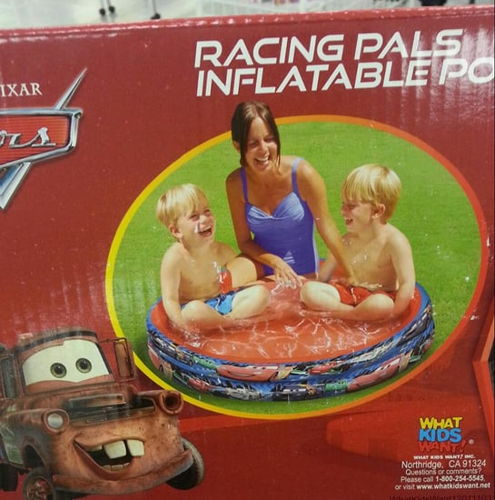 Disney Pool Packaging in Poor Taste