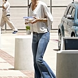 Gisele Bundchen Has Goodies in Hand For a Casual Day in LA