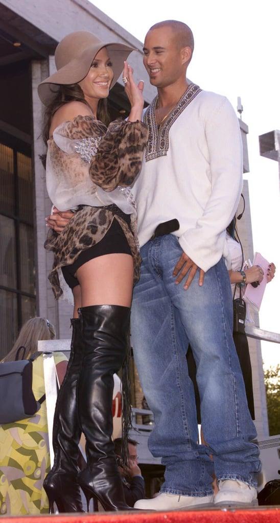 Jennifer Lopez and Cris Judd, 2001