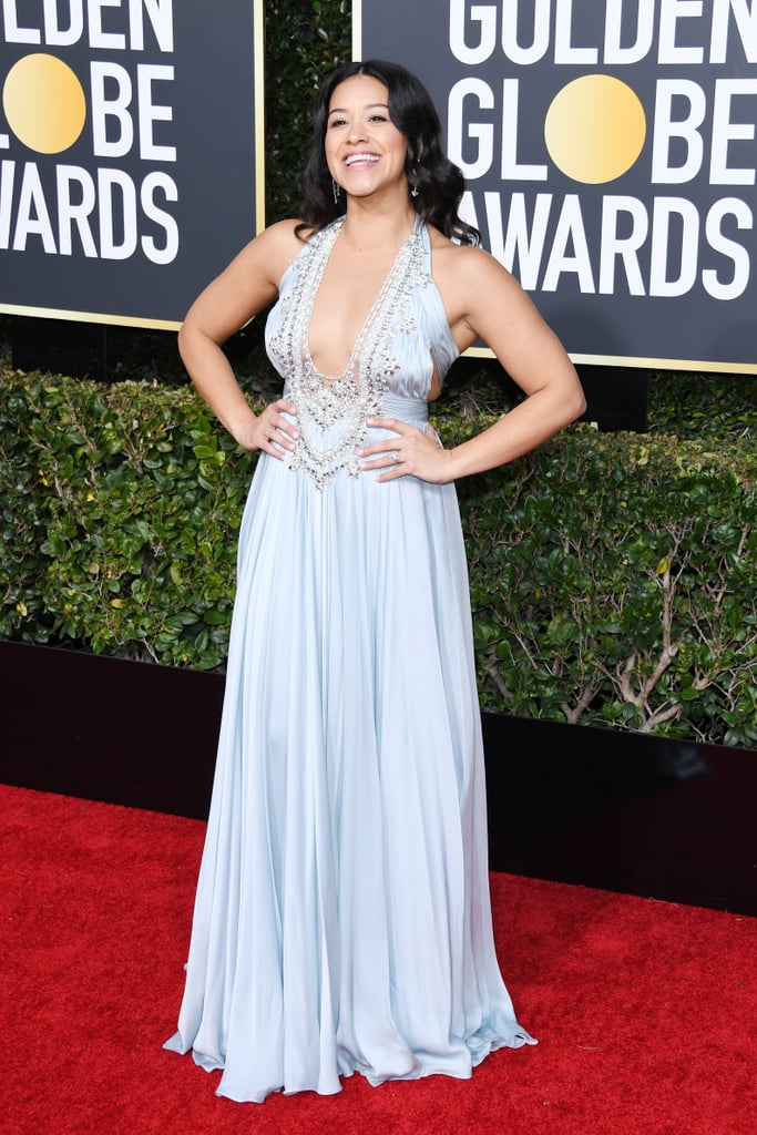 Gina Rodriguez at Golden Globes