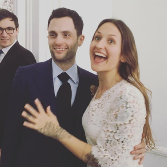 Penn Badgley Marries Domino Kirke 2017