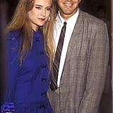 Kelly Preston et George Clooney