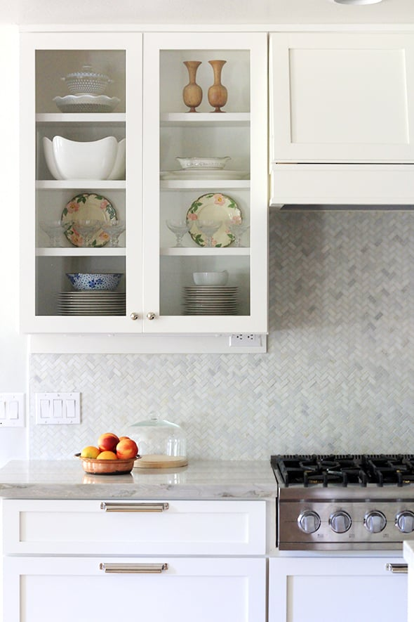 Install a Vertical Backsplash | Small Kitchen Ideas | Photos ...