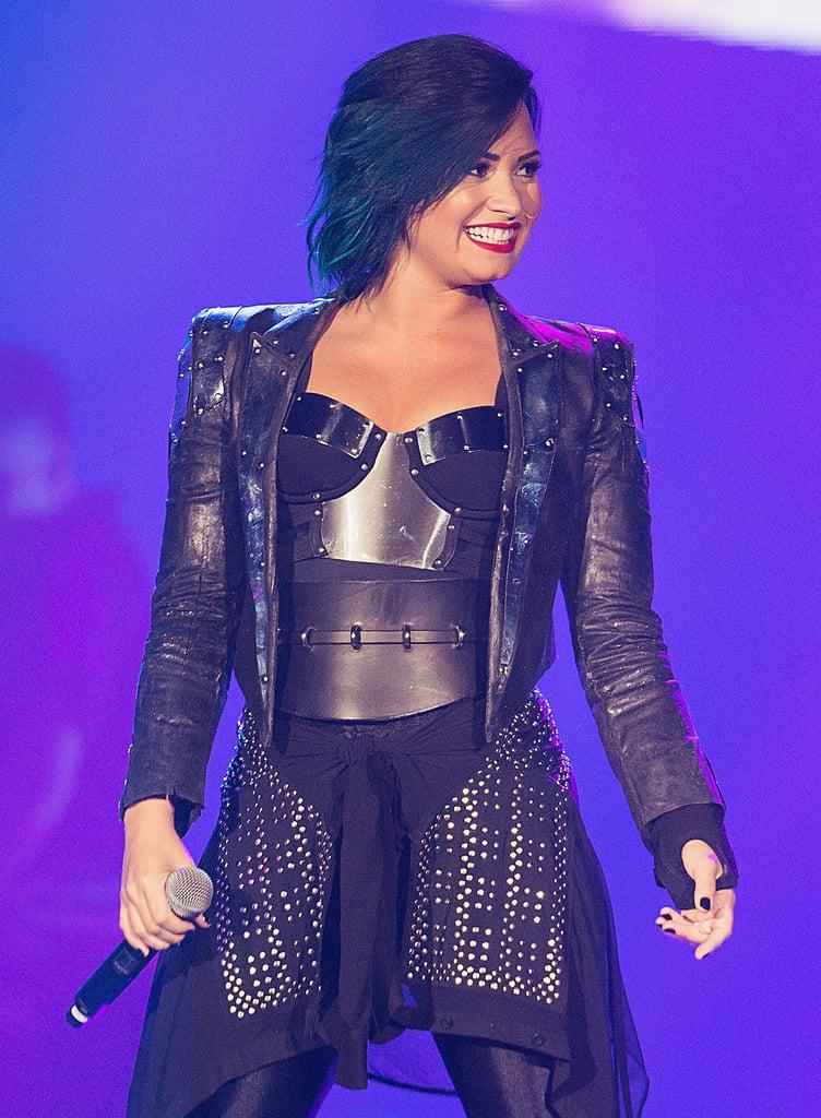 Demi Lovato's Hair Color Evolution