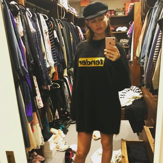 Behati Prinsloo Alexander Wang Sweater on Instagram