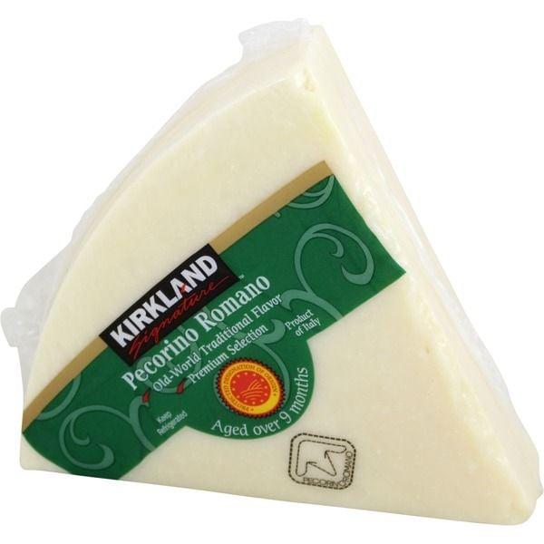 Kirkland Signature Pecorino Romano Cheese ($13 per pound)