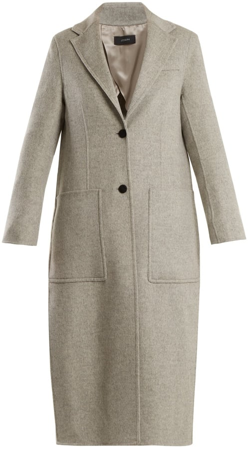 Joseph Marvil Single-Breasted Wool and Silk-Blend Coat