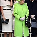 Meghan Markle and Queen Elizabeth II Pictures