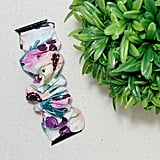 Floral Scrunchie Watch Band