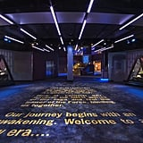 The entrance to the Launch Bay.