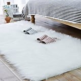 Carvapet Luxury Soft Faux Sheepskin Fur Area Rug