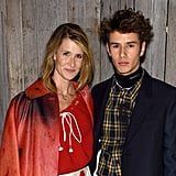 Laura Dern and Son Ellery Harper at Calvin Klein Show 2018