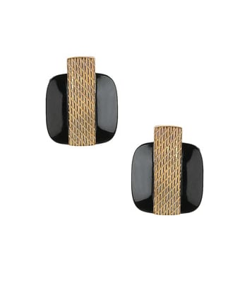Topshop Studs with Metal Strip ($20)