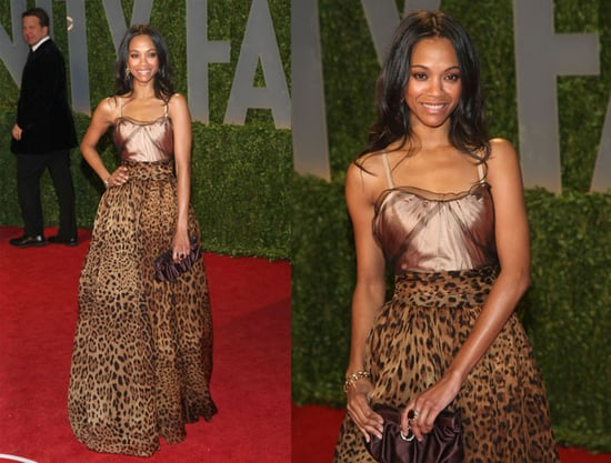 Oscars Afterparty: Zoe Saldana