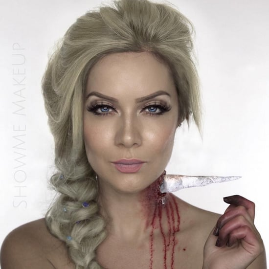 Disney Princess Halloween Makeup Transformations