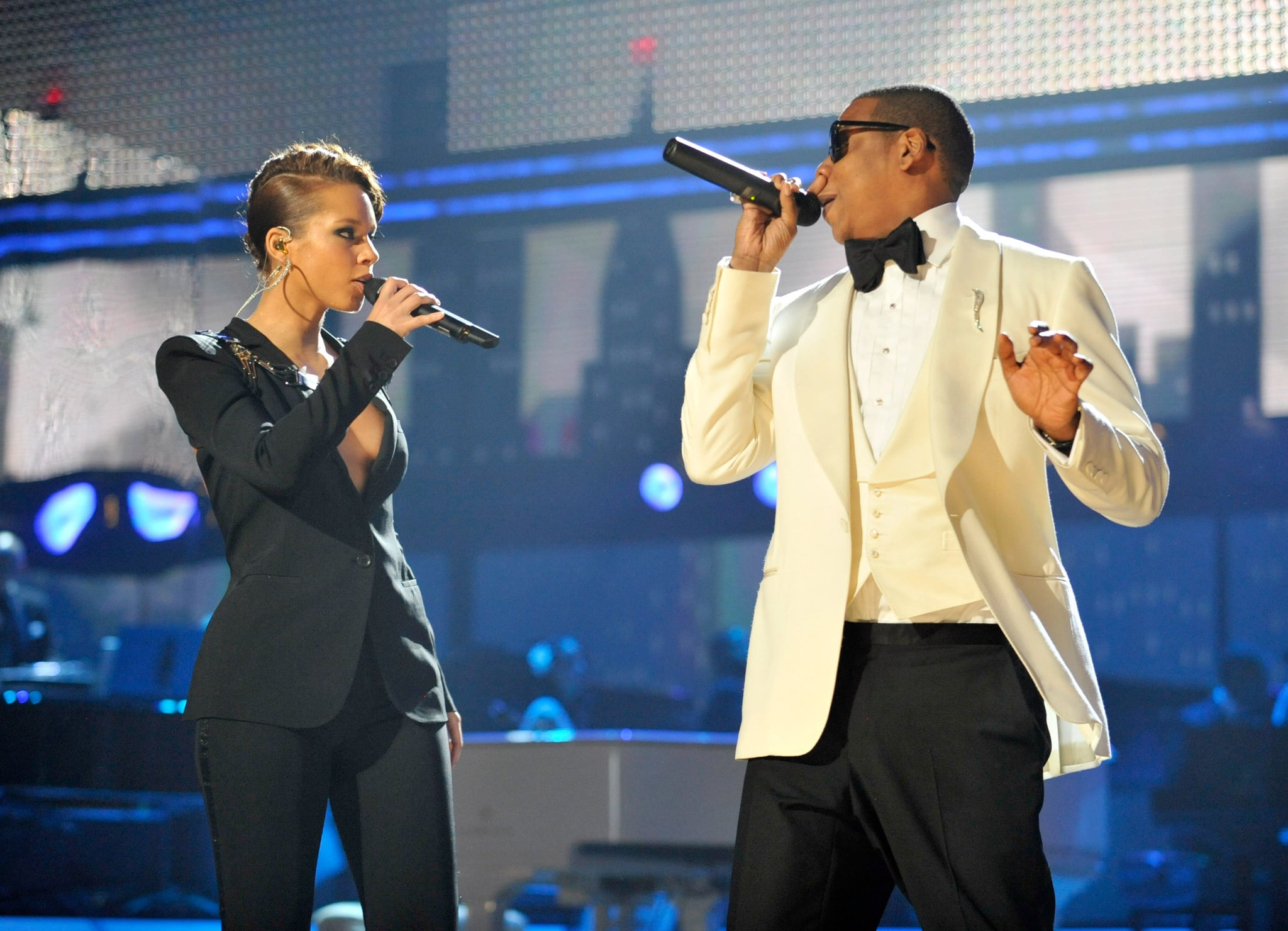 "Jay Z and Alicia Keys performed their hit ""Empire State of Mind"" in 2009."