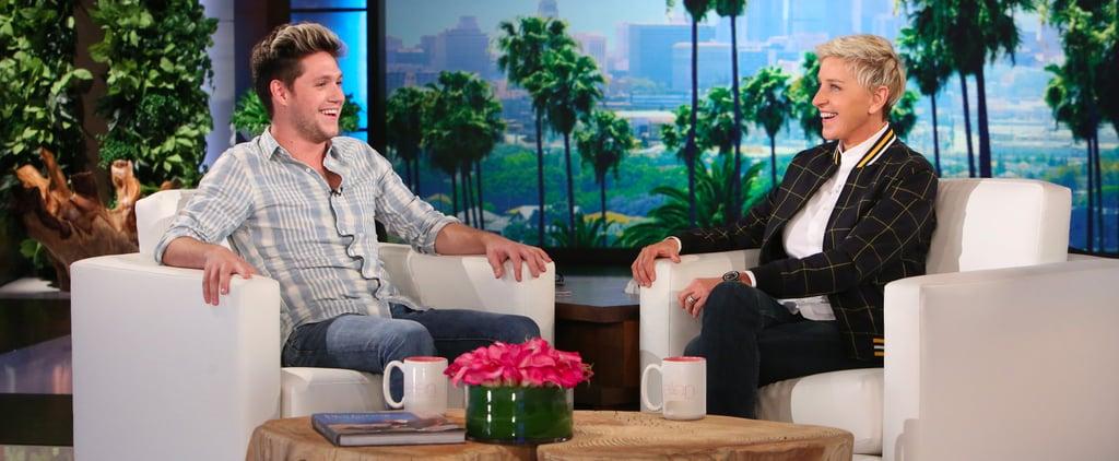 Niall Horan on The Ellen DeGeneres Show October 2016