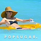 Heidi Klum in a Bikini in the Bahamas