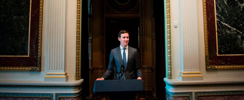Jared Kushner Spoke in Public, and People Finally Discovered What He Sounds Like