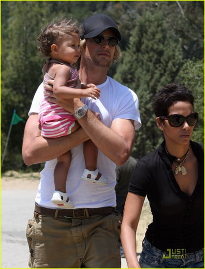 Halle Berry and her lovely family