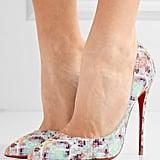 Melania's Python Shoes