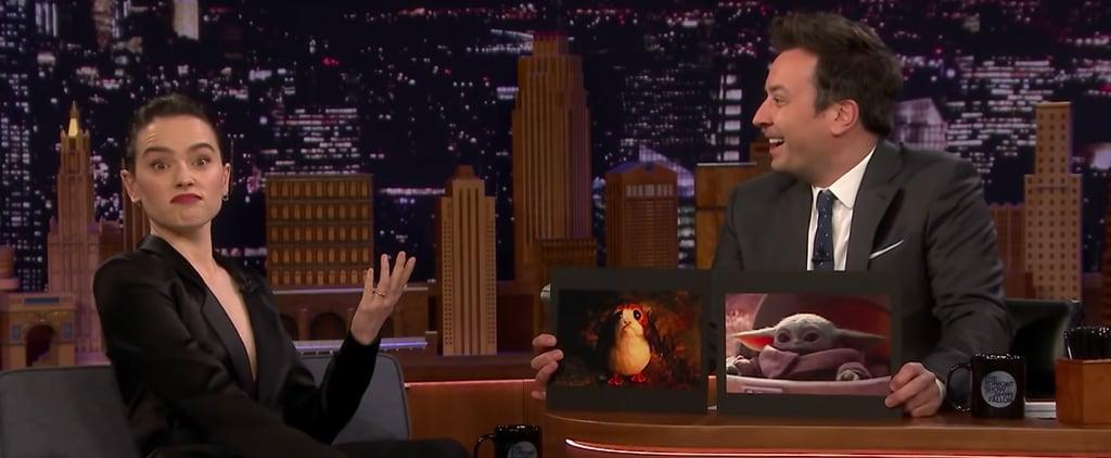 Daisy Ridley Talks Baby Yoda on The Tonight Show